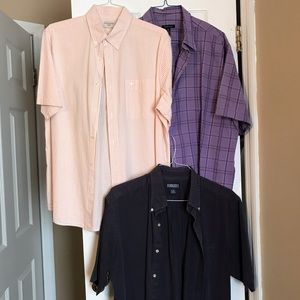 Men's short sleeve shirt bundle